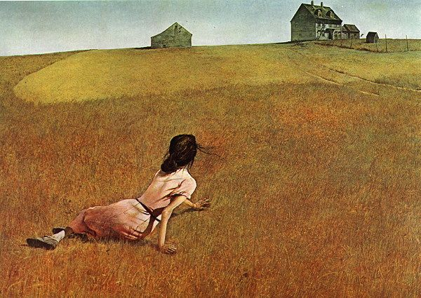 Christina's World by Andrew Newell Wyeth