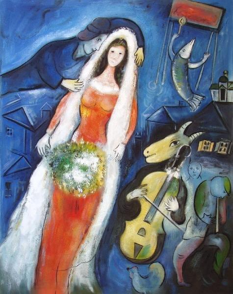 La Mariée by Marc Chagall – my daily art display