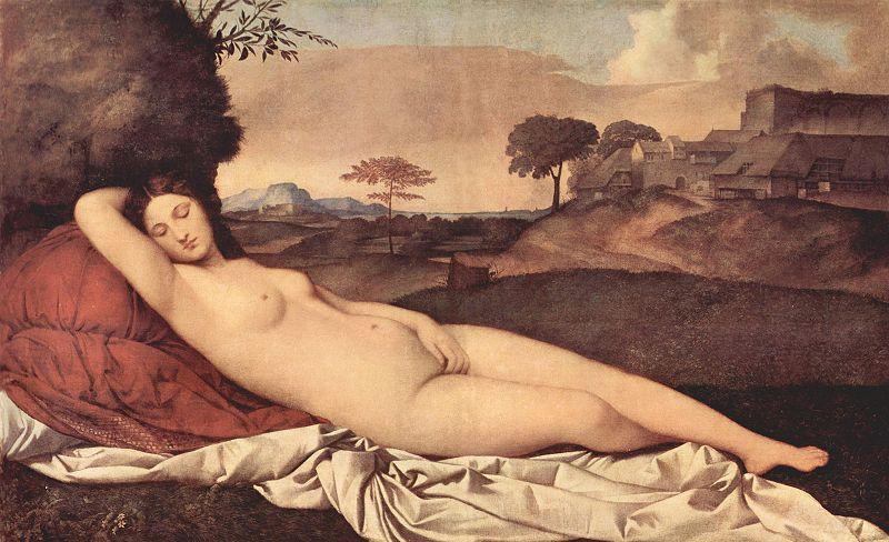 The Dresden Venus ...  sc 1 st  my daily art display - WordPress.com & Venus of Urbino by Titian and the Sleeping (Dresden) Venus by ... islam-shia.org