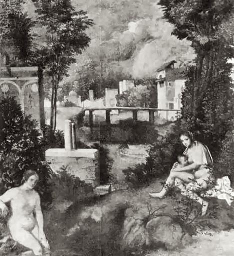 la tempesta di giorgione. Giorgione+the+tempest+1506