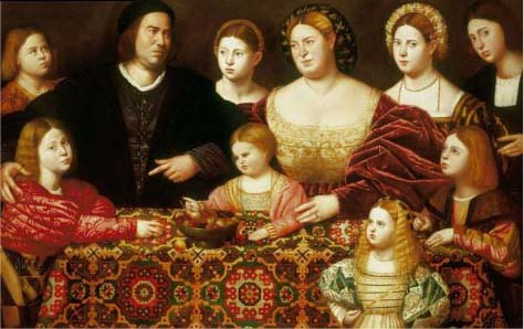 A Family Group By Bernardini Licinio My Daily Art Display