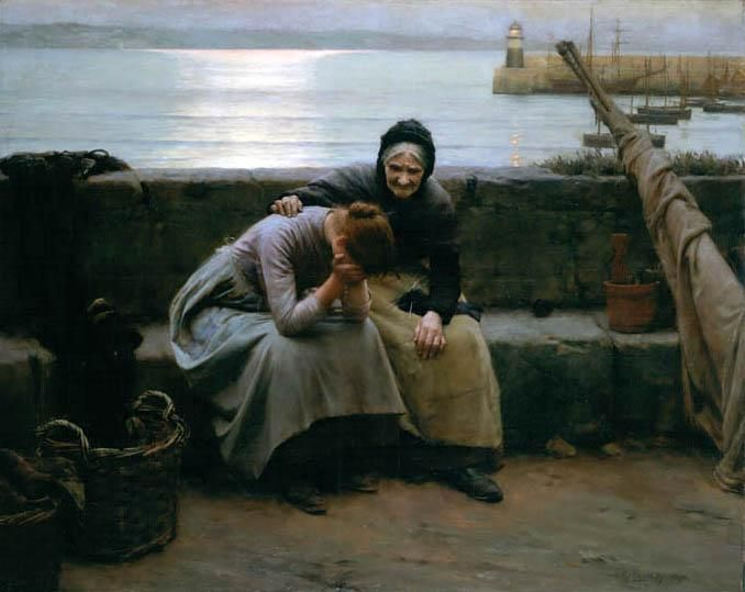 Never Morning Wore to Evening but Some Heart Did Break by WalterLangley