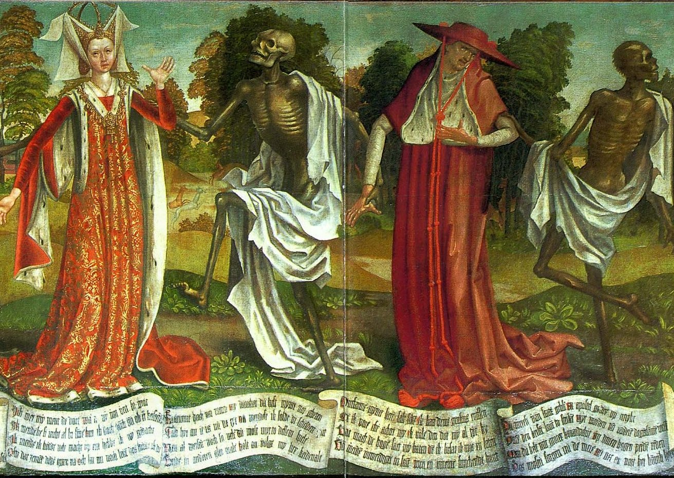 Medieval Painting Of The Black Death