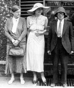 From l to r.  Hepworth, Preece and Spencer