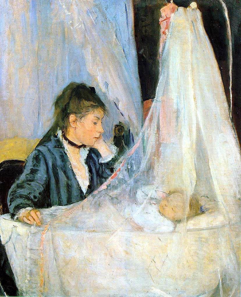 Berthe Morisot - Page 3 Le-bercau-by-berthe-morisot