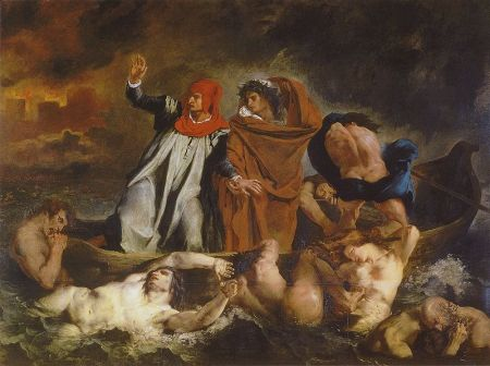The Barque of Dante by Eugène Delacroix – my daily art display