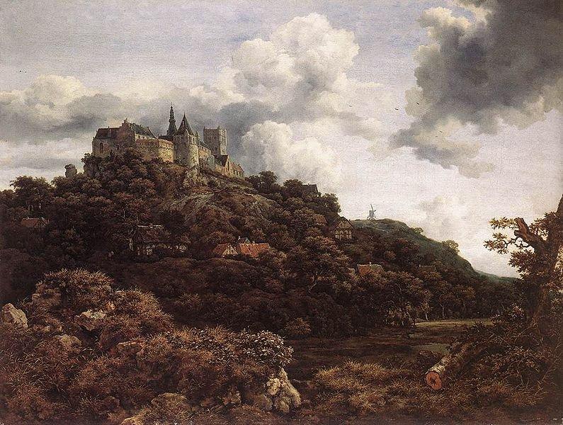 Arte e Estética - Página 3 Bentheim-castle-by-jacob-van-ruisdael