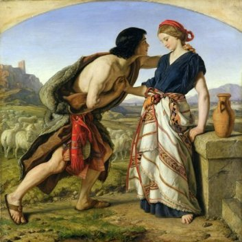 Image result for jacob and rachel william dyce