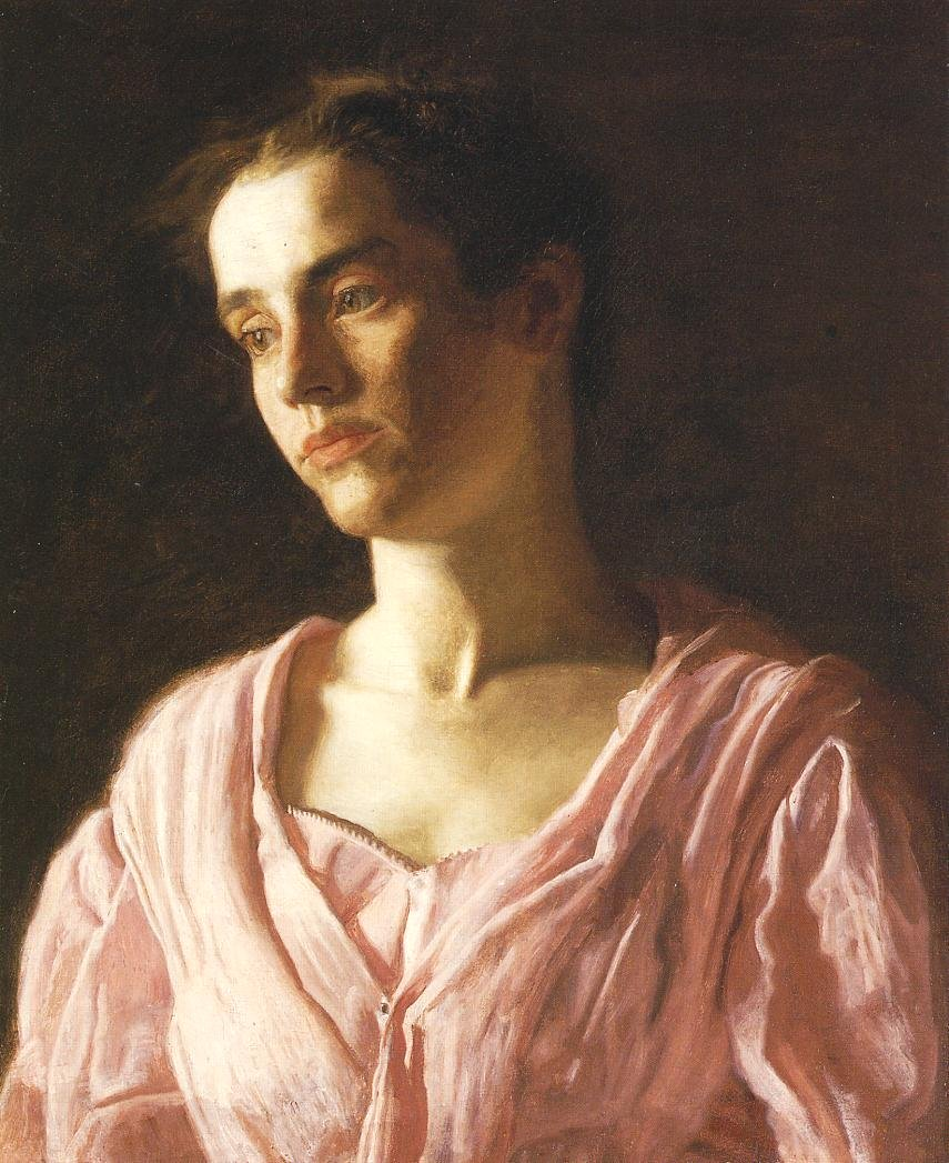 Portrait Of Maud Cook By Thomas Eakins My Daily Art Display