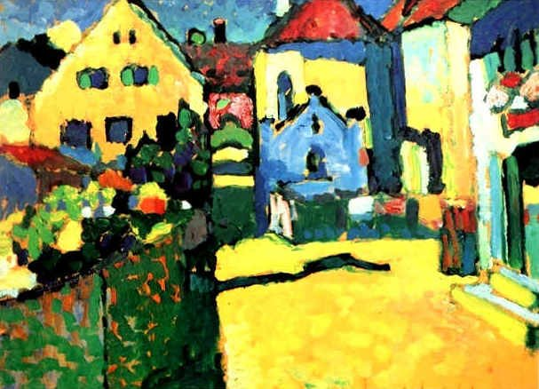 Grüngasse in Murmau by Wassily Kandinsky – my daily art ...