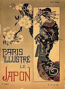 Title page of Paris Illustré (May 1886)