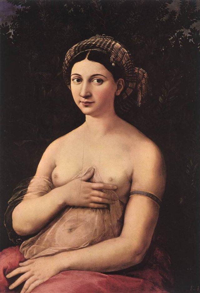 La Fornarina by Raphael (1520)