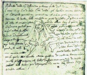 Page from van Dyck's sketchbook