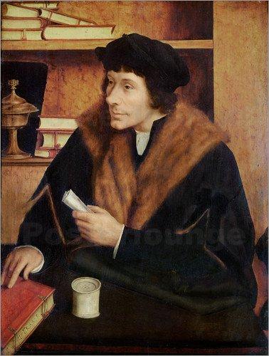Pieter Gillis by Quinten Massys (1517)