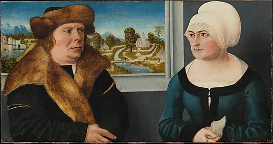 Portrait of a Man and His Wife by Ulrich Apt the Elder (1512)Metropolitan Museum of Art, New York