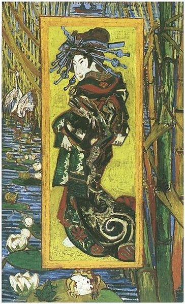 The Courtesan (after Eisen) by van Gogh