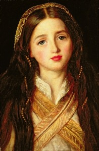 Alice Gray by Millais (1857)