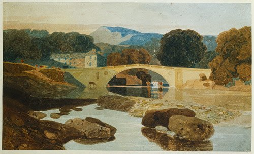 Greta Bridge by John Sell Cotman (1810)Norwich Castle Museum