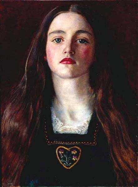 Sophie Gray by John Everett Millais (1857)