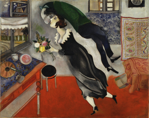 The Birthday by Marc Chagall (1915)