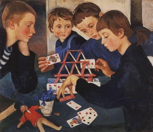 House of Cards (1919)by Zinaida Seberiakova