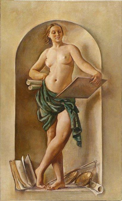 Jurisprudence by Zinaida Serebriakova (1937-8)