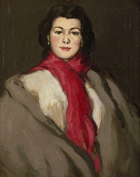 Mademoiselle Dryden by J.D.Fergusson (1908)
