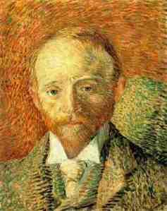 Portrait of Alexnder Reid by Vincent van Gogh (1887)