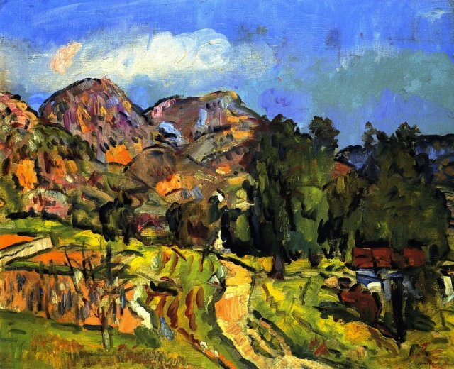 Provencal Landscape by George Leslie Hunter (c.1929)