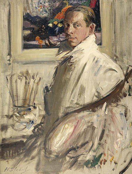 Self Portrait by Francis Cadell (c.1914)