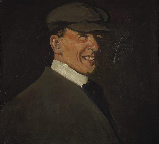 Self-portrait by J.D.Fergusson (1902)