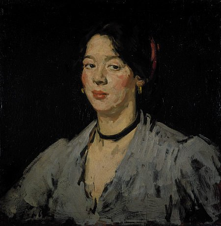 The Green Blouse by Samuel Peploe (c. 1904)