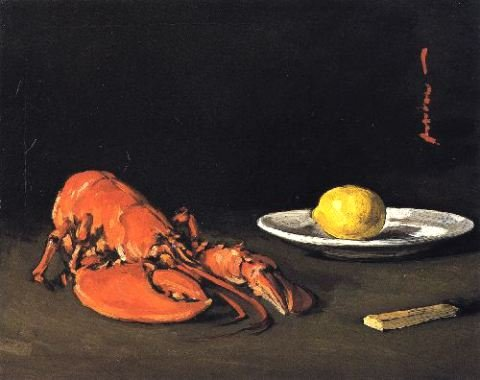 The Lobster by S.J.Peploe (c.1903)