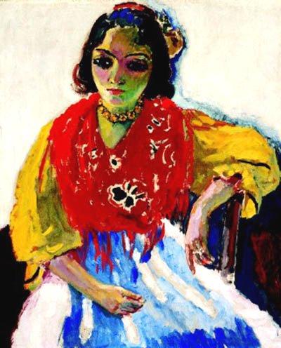 Gypsy by Kees van Dongen (1911)