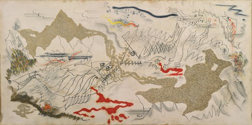 Battle of the Fishes by André Masson (1926)