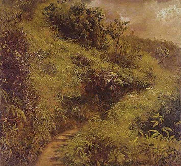 Fern Walk, Jamaica by Frederic Church (1865)
