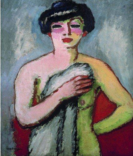 Fernande Olivier by Kees van Dongen (1905)