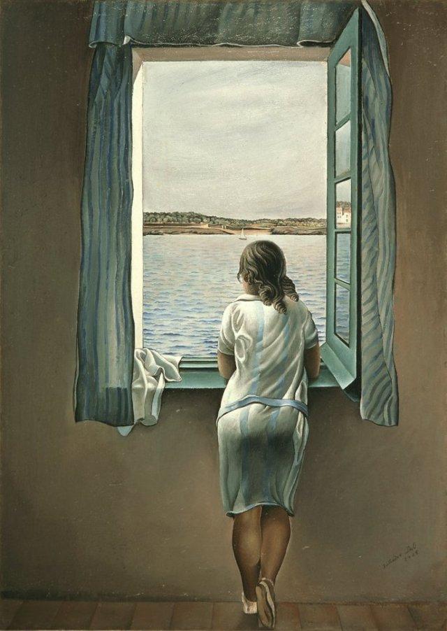 Figure at a Window by Dali (1925)