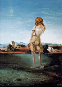 Girl from Ampurdam by Dali (1926)
