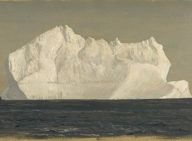 Iceberg Flotante by Frederic Church (1859)