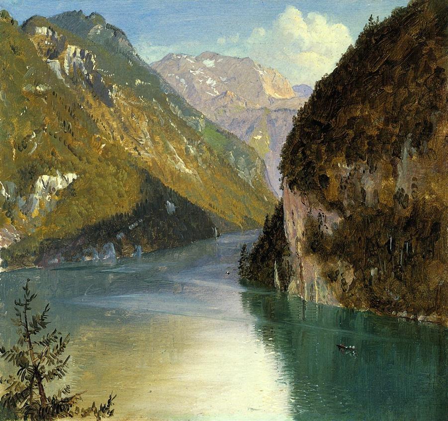 Königsee by Frederic Church (1868)