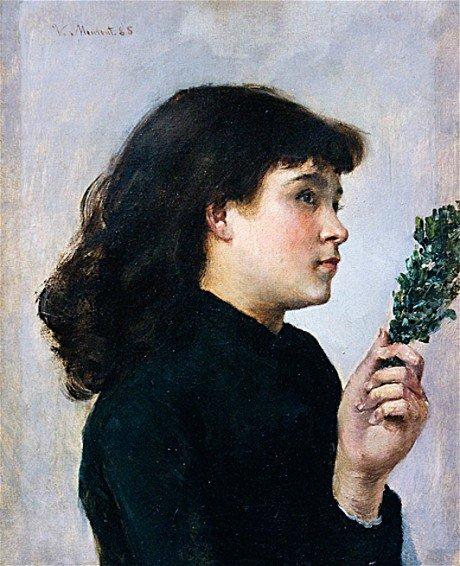 Le Jour des Rameaux by Victorine Meurent (c.1880)