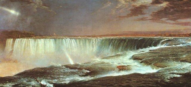 Niagara by Frederic Church (1857)