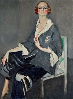 Portrait de Mme Jasmy by Kees van Dongen (1916)
