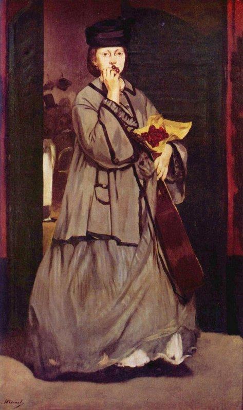 Street Singer by Edouard Manet (1862)