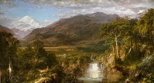 The Heart of the Andes by Frederic Church (1859)