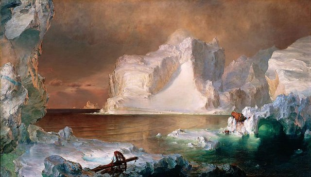 The Icebergs by Frederic Church (1861)