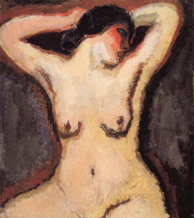 The Torso or The Idol by Kees van Dongen (1905)