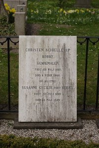 Christen Købke's gravestone