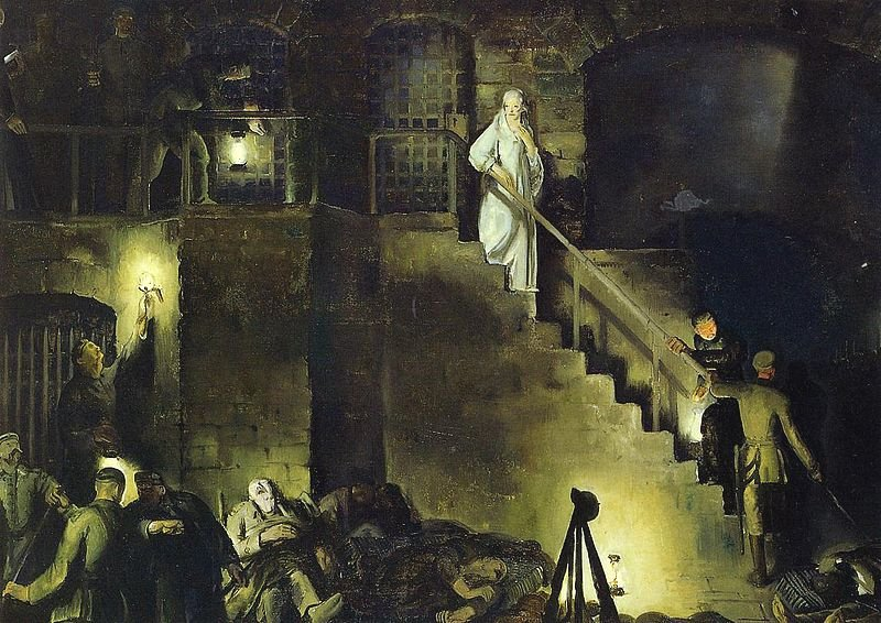 Murder of Edith Cavell by George Bellows (1918)